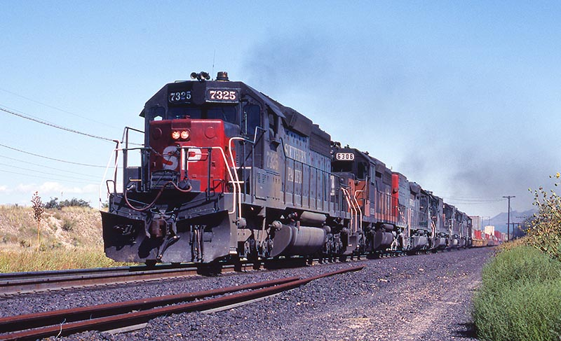Southern Pacific's Sprint to the Finish