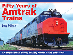 Fifty Years of Amtrak Trains