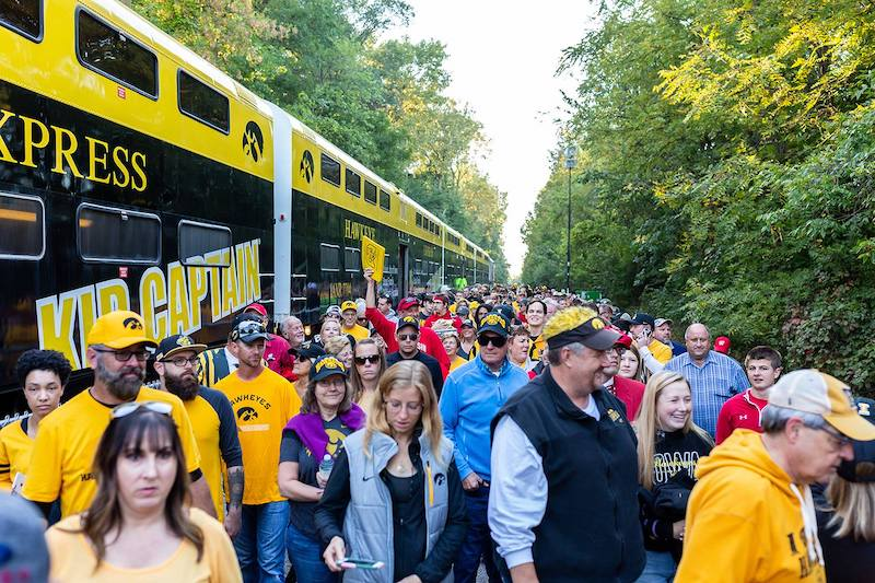 University of Iowa's Football Train Comes to an End