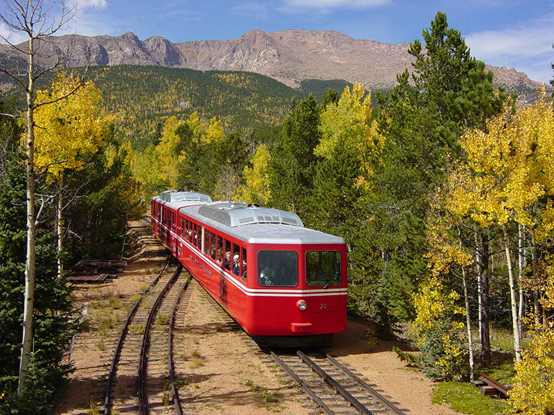Pikes Peak Cog Railway to Reopen in May