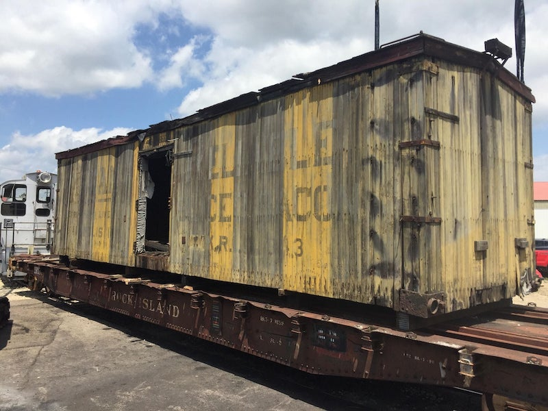 Illinois Railway Museum Saves the Bacon (Boxcar)