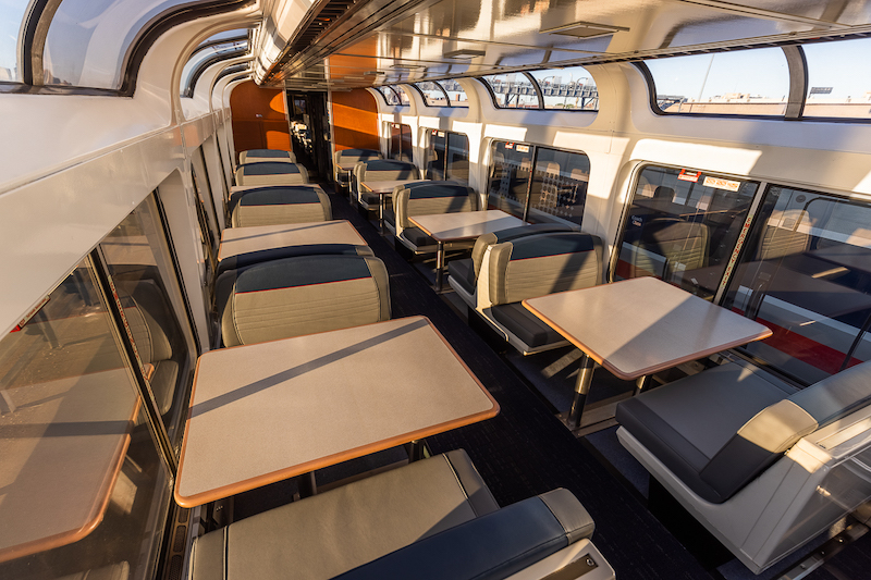 Amtrak Begins Multi-Year Effort to Refurbish Long-Distance Equipment