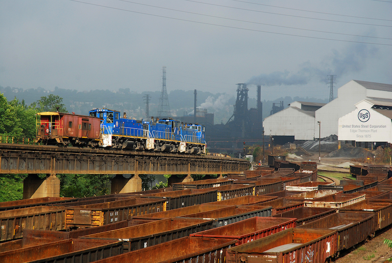 U.S. Steel Railroads Sold to Fortress for $640 Million