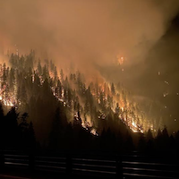 California Fire Causes 'Significant' Damage to BNSF Line