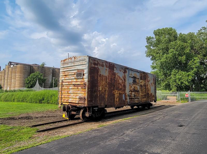 Historic Flour-Carrying Boxcar Returns to Buffalo