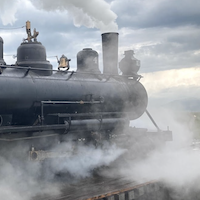 South Park Steamer Sidelined in Colorado