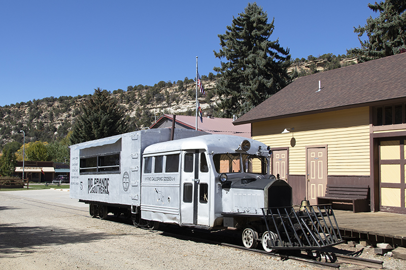 Iconic 'Galloping Goose' Hits Main Line This Fall