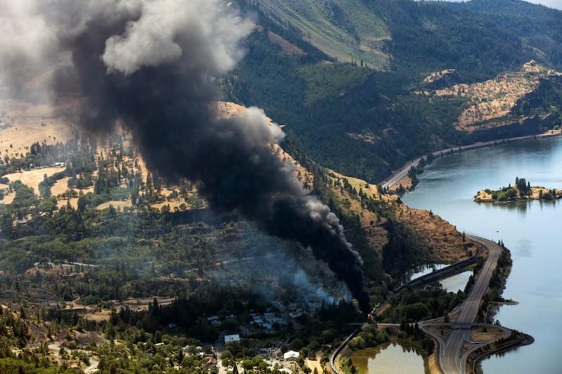 Union Pacific Pays Fine For Columbia River Gorge Derailment
